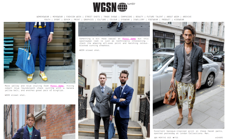 Arise Rob Soar WGSN Street Style